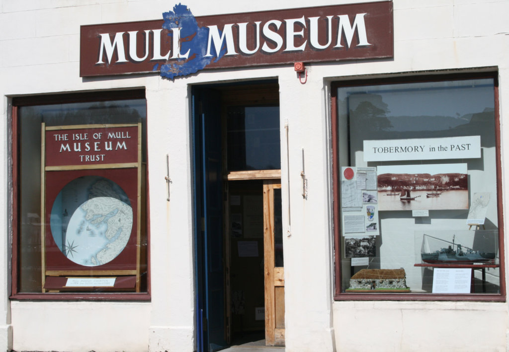 Mull museum things to do with children on mull and iona