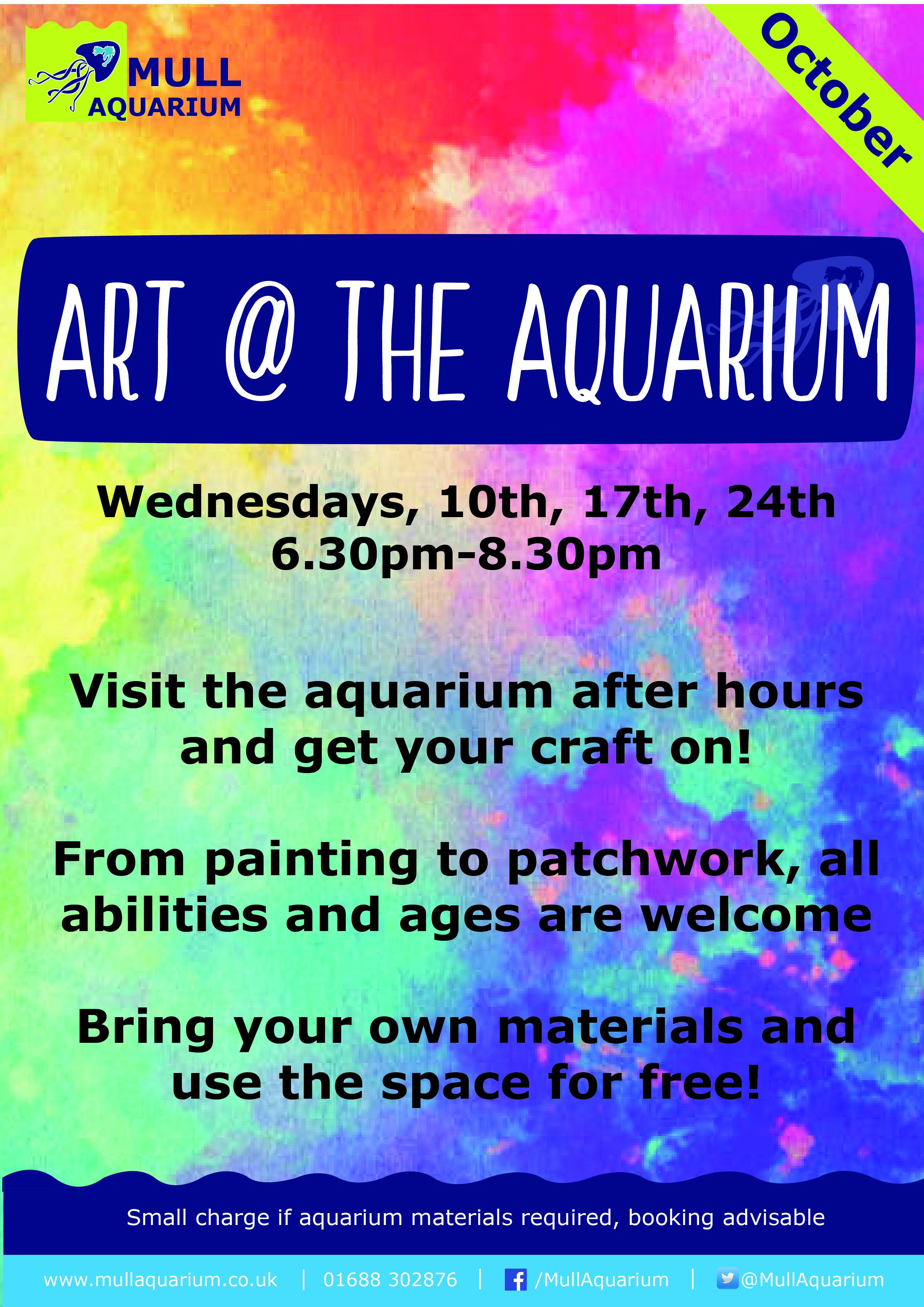 Art @ the Aquarium