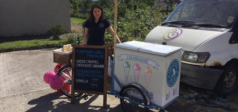 Tobermory StrEAT Food Festival - Isle of Mull Ice Cream