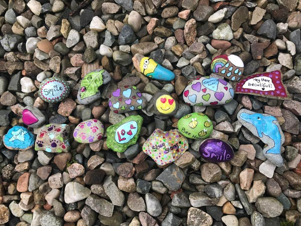 Tobermory Rocks - things to do with children on mull and iona