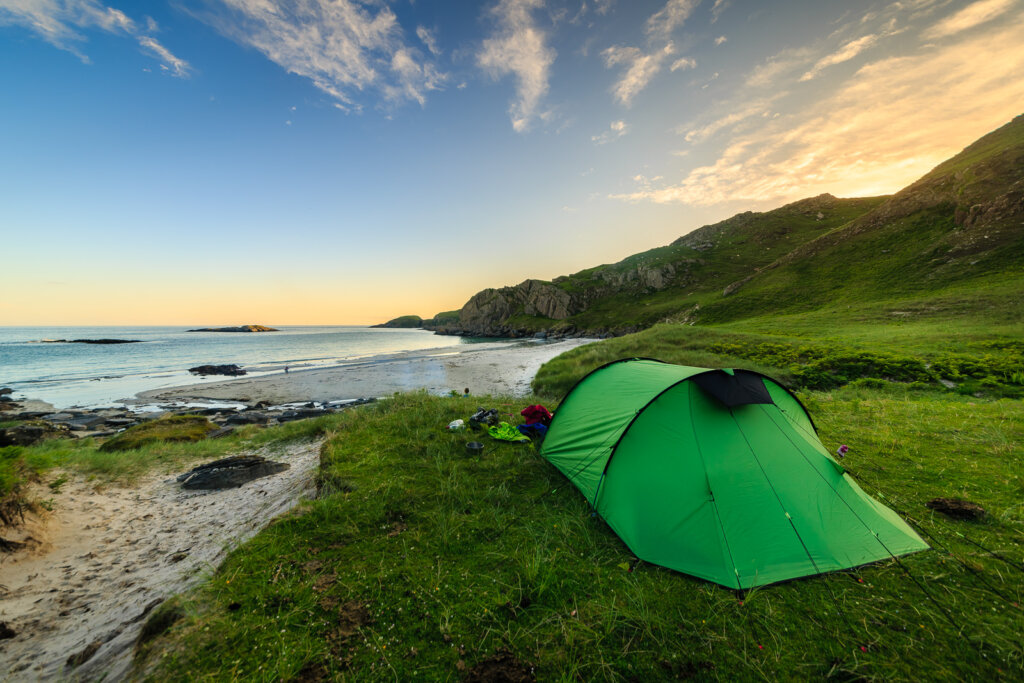 Wild Camping on Mull